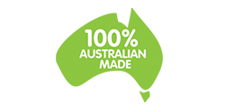 100% Australian Made, Owned and Operated